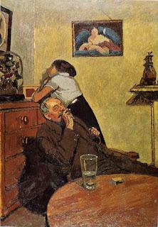 Walter Sickert Nuda, 1914. Olej na płótnie