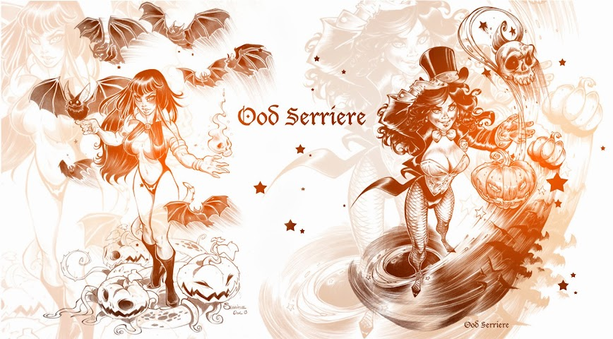 Ood Serriere: Bandes dessinées et illustrations
