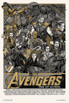Avengers: Age of Ultron Variant Edition Screen Print by Tyler Stout & Hero Complex Gallery