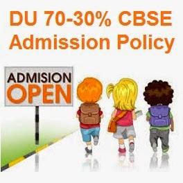 DU UG Admission Scheme