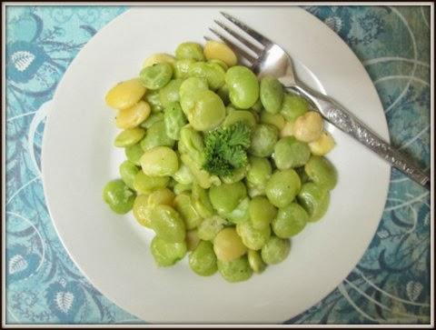 Lima Beans in Garlic Butter Sauce