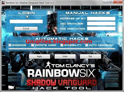 Rainbow Six: Shadow Vanguard Hack v1.1 | KEY-GENS,HACKS,CHEAT
