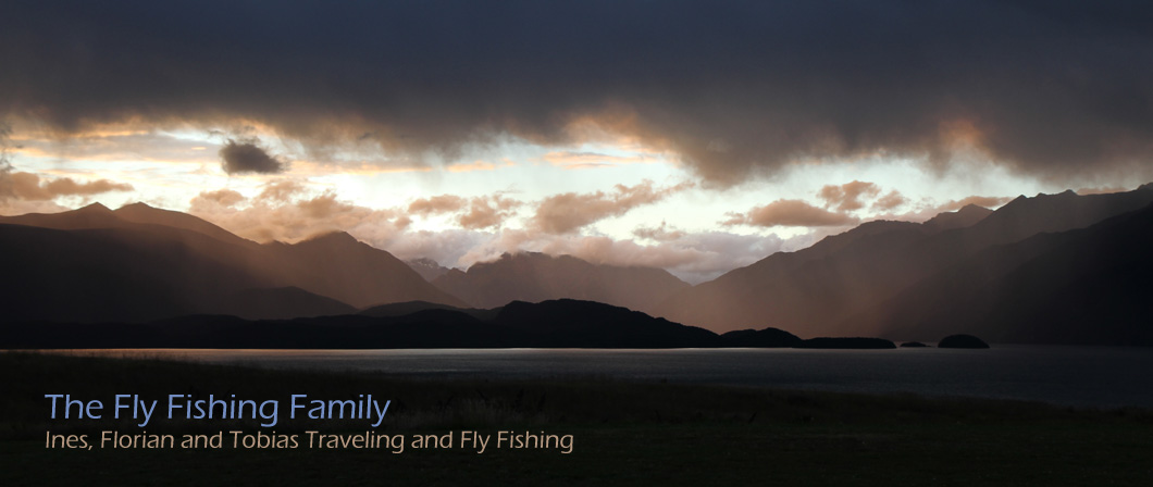 The Fly Fishing Family - Florian, Ines, Tobias and Sanna traveling and fly fishing