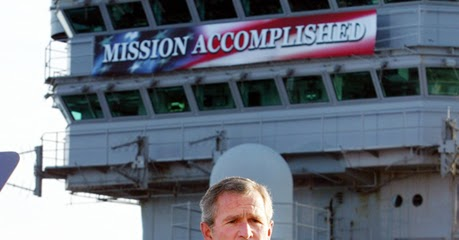 Mission Accomplished >> Political Memes: George W. Bush: Mission Accomplished - Lipstick