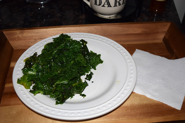 easy sauteed kale for one