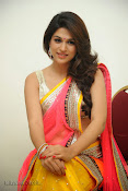 Shraddha das photos in Saree at Rey audio launch-thumbnail-11