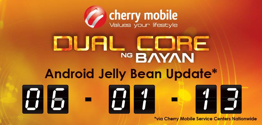 Cherry Mobile Flare Jelly Bean Update Now Officially Released