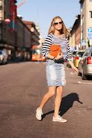 Jeansröcke Mode