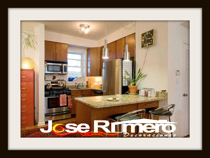 Dise o y decoracion jose romero decoraci n de cocinas for Decoracion de apartamentos pequenos