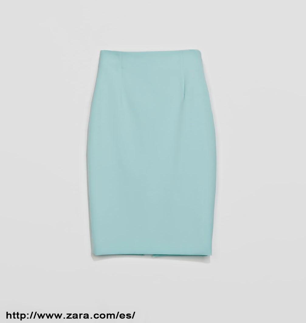 Falda midi/Midi Skirt ZARA