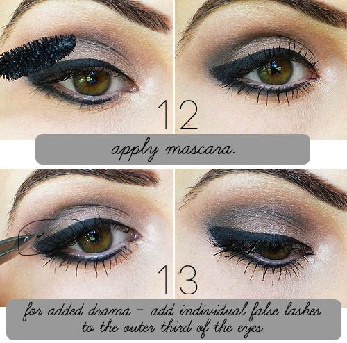Dramatic black eye makeup tutorial