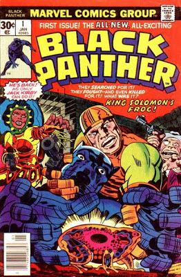 Black Panther #1, King Solomon Frog, Jack Kirby