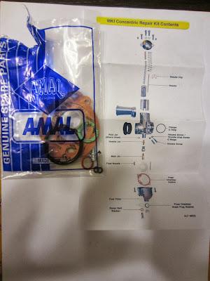 Kit para restaurar el Amal Concentric 622