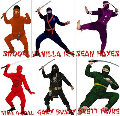 Celebrity Ninjas