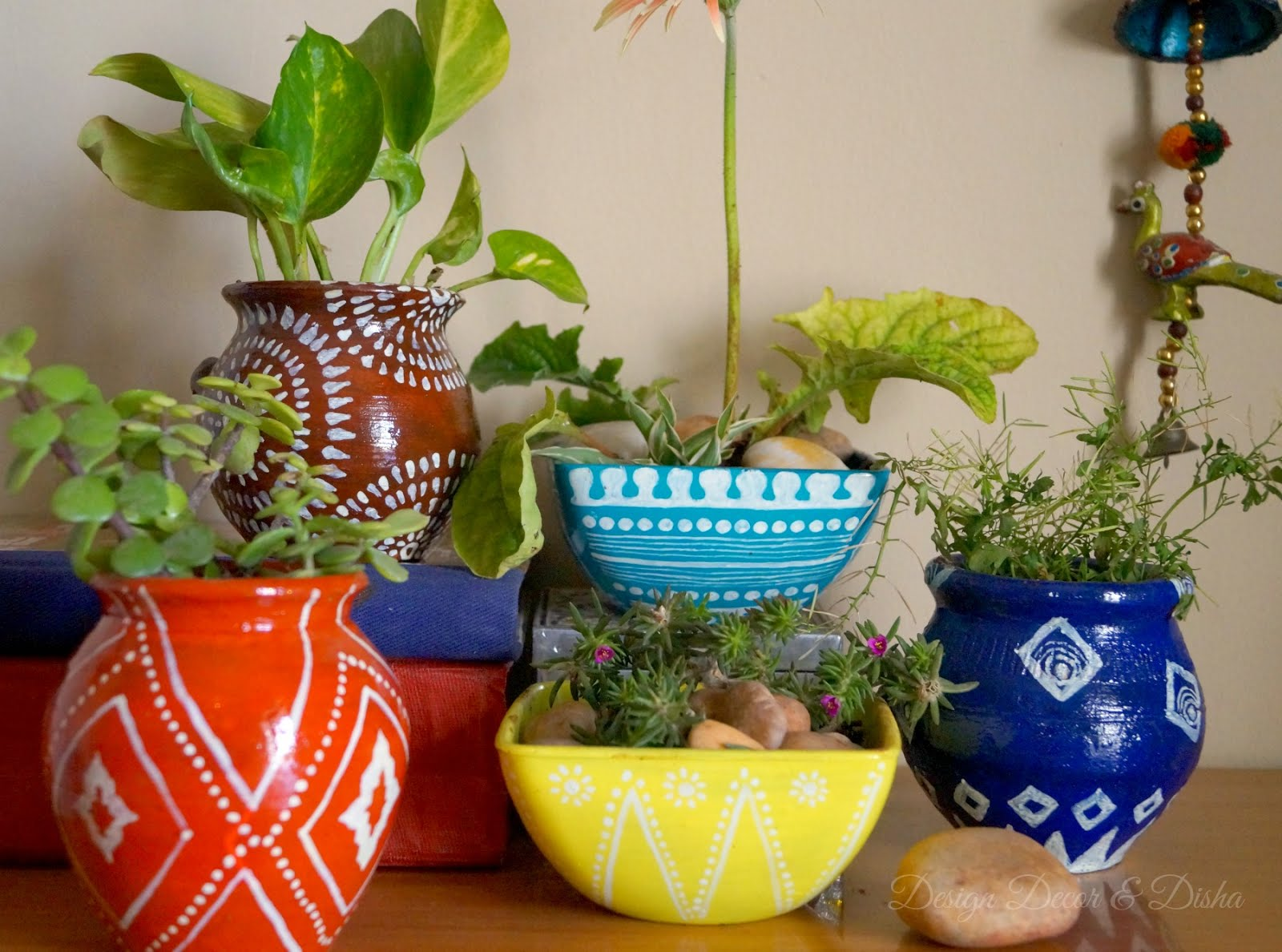 Design decor disha an indian design decor blog for Design patterns for pot painting
