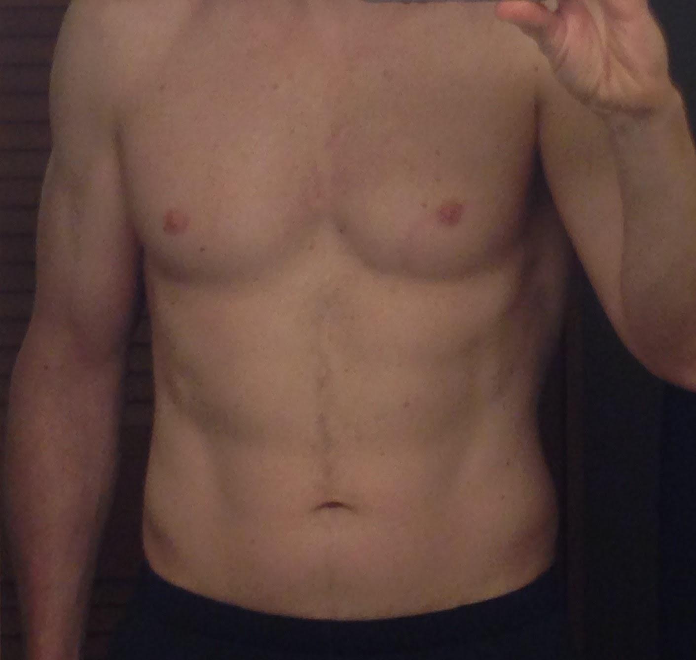 guy face no Shirtless selfie