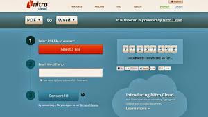Tukar PDF ke WORD