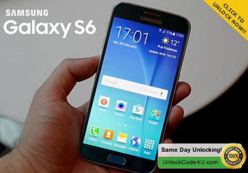 Factory Unlock Code for Samsung Galaxy S6