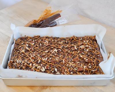 Beki Cooks Cake Blog Brownie Mint Bars