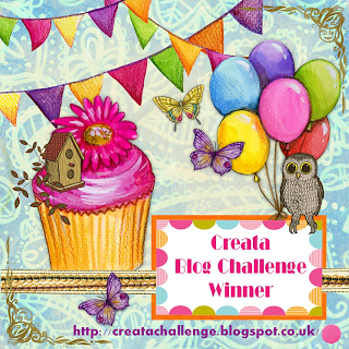 My first blog challenge winner badge