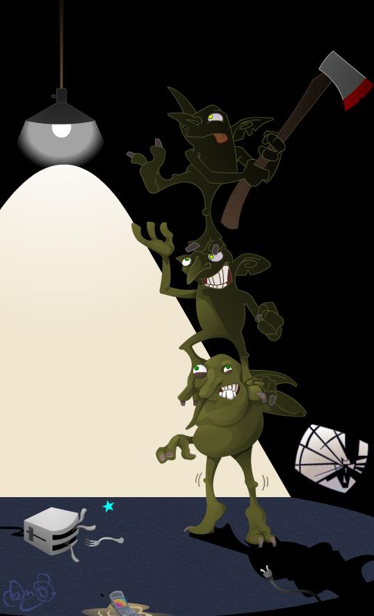 Gremlins por WonderDookie