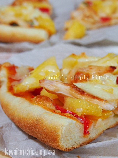 pizza hawaiian chicken