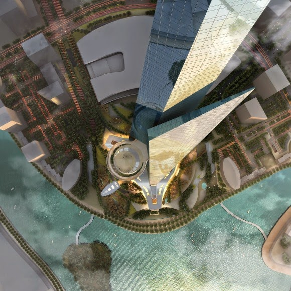 برج الـ 1000 متر في السعودية عام 2019