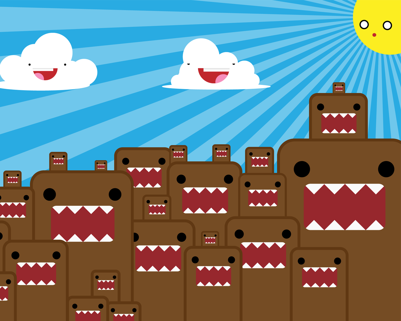 Cute Domo wallpapers