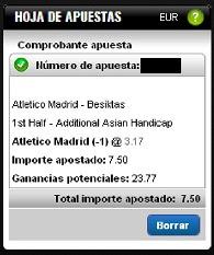 Apuestas Rosberg Fútbol– Europa League Atlético de Madrid-Besiktas Titanbet