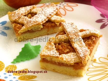 Jablkový mrežovník - recepty