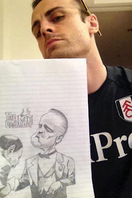 Dimitar Berbatov o desenhador