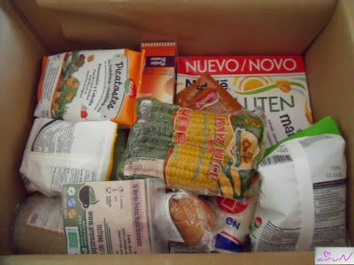 caja quebox contenido sin gluten sin lactosa