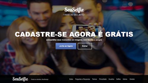 SeuSelfie a rede social para viciados em Selfies