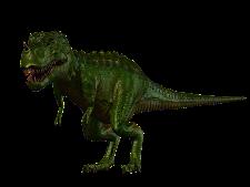 Tyrannosaurus Dark Green