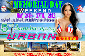 MEMORIAL DAY WEEKEND MAY 24TH-27TH SAN JUAN,PUERTO RICO