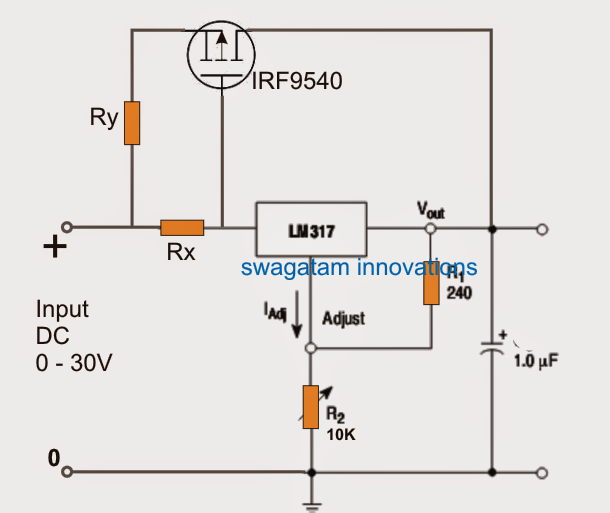 How To Understand And Use Ic 4093 Nand also Lm317 With Outboard Current Boost additionally  on lm317 with outboard current boost
