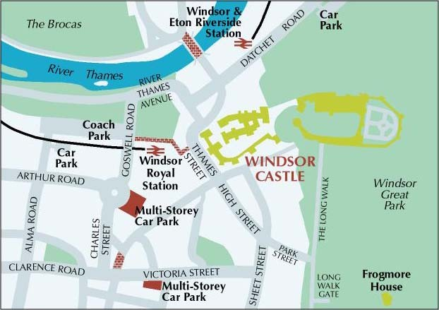 My Dog Ate My Homework Windsor Castle Map