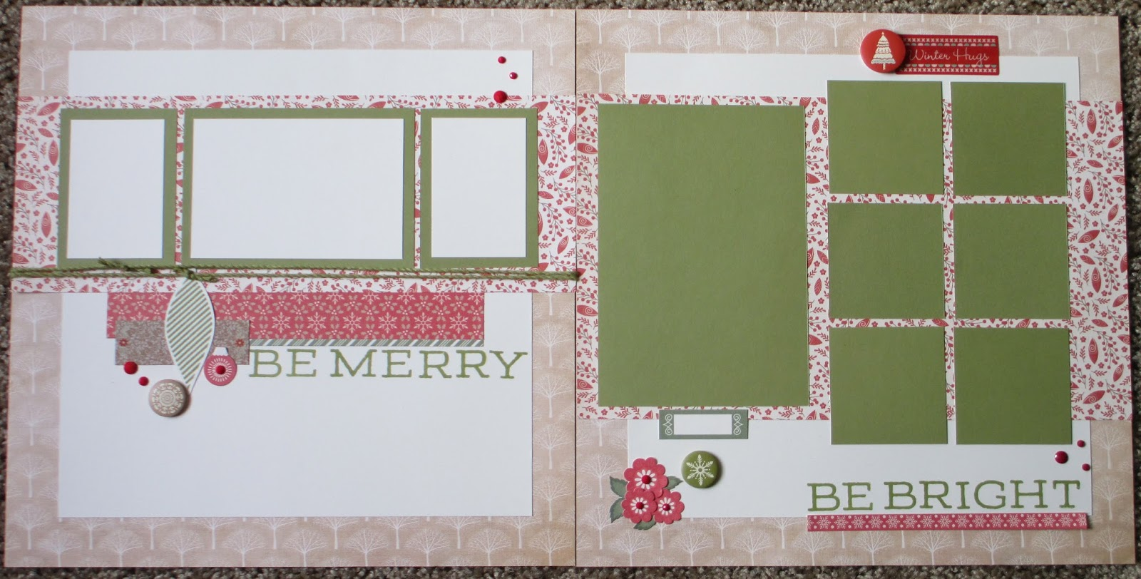 Create With Care Ctmh White Pines Holiday Layouts