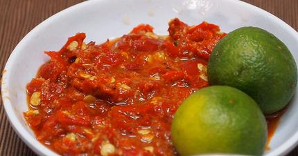 resep masakan indonesia resep sambal terasi