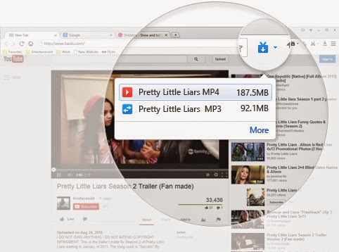 Spark Browser (Download Video YouTube Mudah dan Cepat)