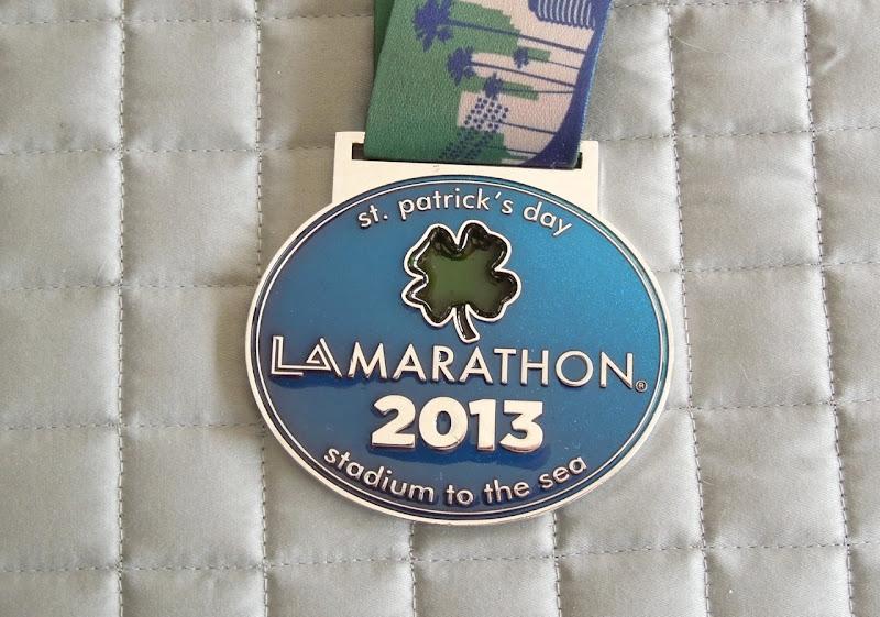 LA Marathon 2013 medal