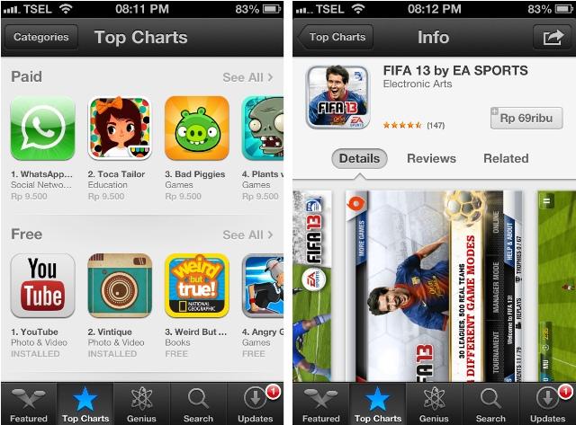 cara membeli aplikasi iOS apple store dengan rupiah
