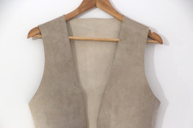 DIY Tutorial y patrones chaleco con flecos boho