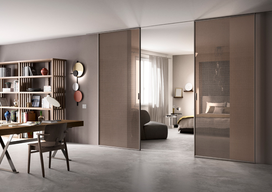 Interiores y 3d scenario un nuevo modelo de puerta corredera for Sistemas de puertas correderas interiores