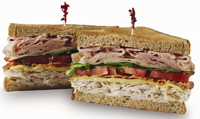 turkey club sandwich, National Sandwich Day, November 3