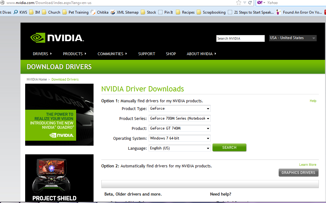 Download Drivers - NVIDIA