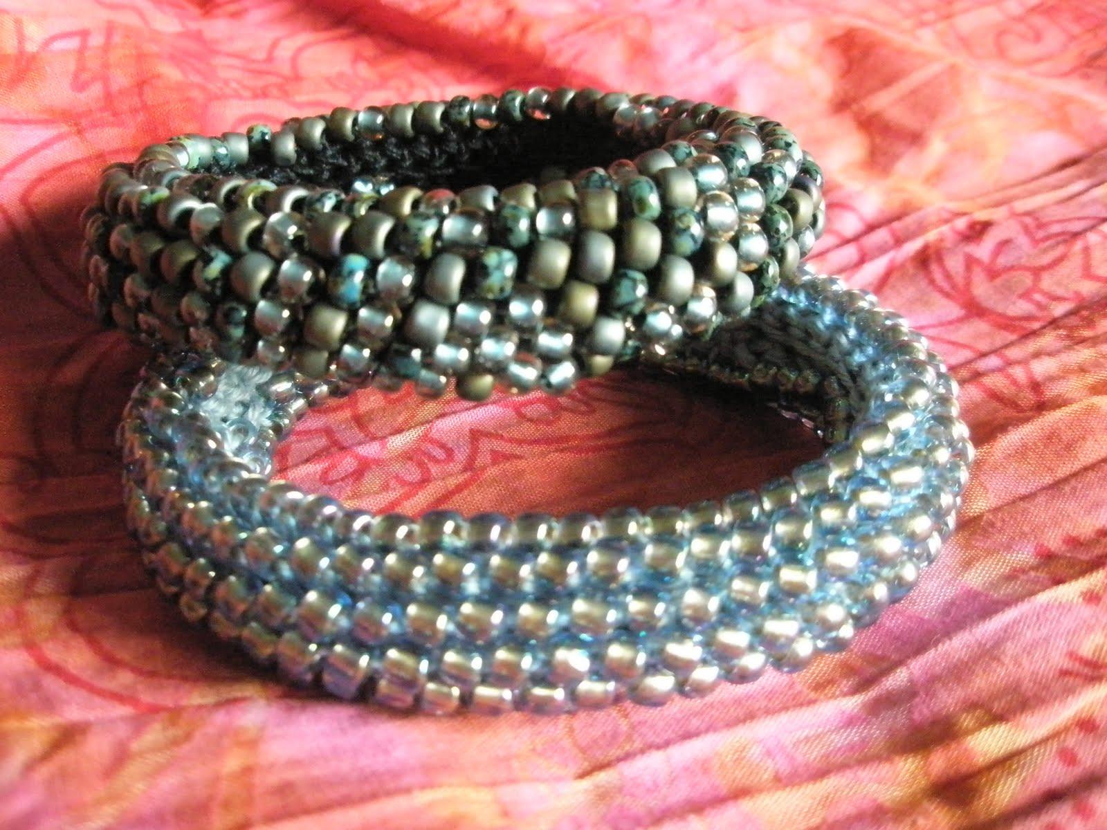 Armband h keln mit perlen my blog - Perlenarmband basteln ...