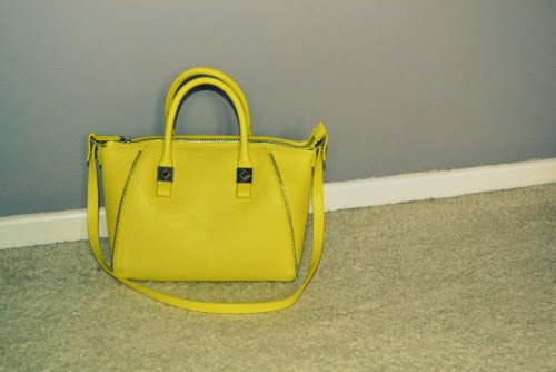 zara-lime-green-mini-bowling-bag