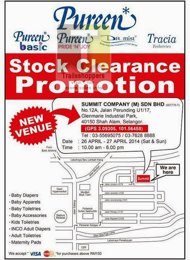 Pureen Stock Clearance Promotion Diapers Shah Alam