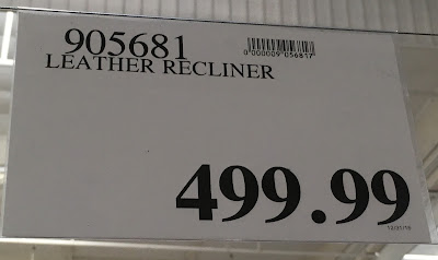 Deal for the Synergy Home Furnishings Leather Recliner Chair at Costco
